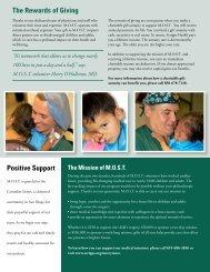 MOST newsletter Spring 2010 - Scripps Health