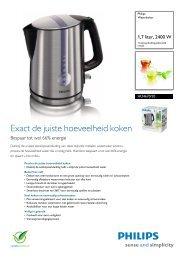 HD4670/20 Philips Waterkoker