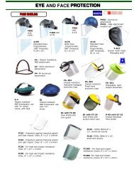 Eye and Face Protection - EYP Business Showcase Pages