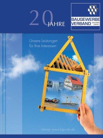 Mitglieder - Baugewerbe Verband - Sachsen-Anhalt