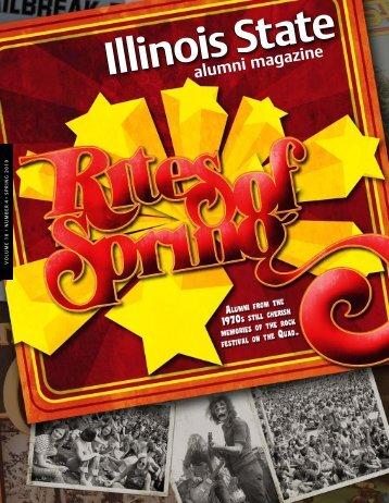 alumni magazine - Illinois State Stories - Illinois State University