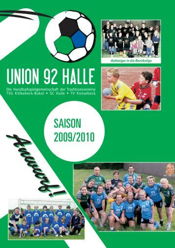 Jetzt neu bei uns - HSG Union 92 Halle