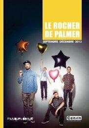 Programme janvier 2012 - Le Rocher de Palmer