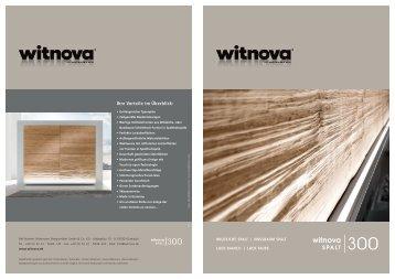 Prospekt W 300 Spalt - Witnova