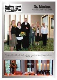 Gemeindebrief November 2008 - Februar 2009