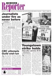 Youngstown strike holds 'Final offer' - The Newspaper Guild