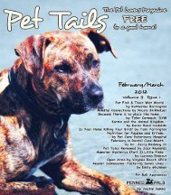 Joan - Pet Tails Magazine