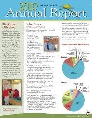 Annual Report - Arbor Acres