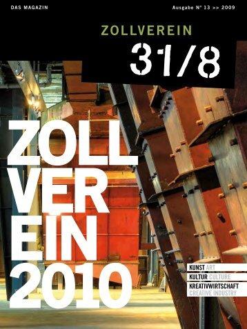 Ausgabe 2009 - Zeche Zollverein