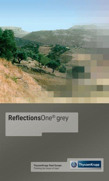TKSE ReflectionsOne Grey.indd - ThyssenKrupp Steel Europe AG
