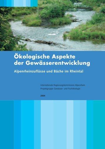 Ökologische Aspekte der Gewässerentwicklung - HYDRA-Institute