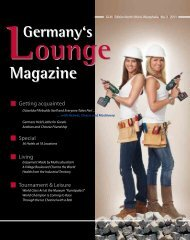 Special - Germany's Lounge Magazine