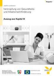 Handlungsempfehlungen für SGB II-Träger zur ... - GIB NRW