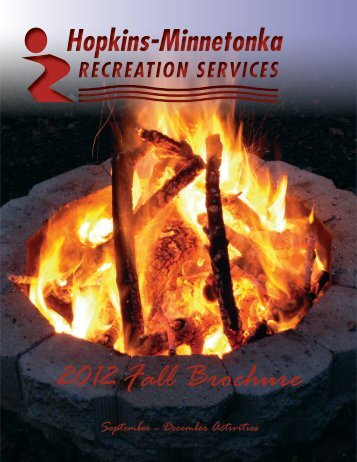 General Information and Facilities section of Recreation 2012