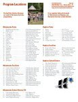 General Information and Facilities section of Recreation 2012 - Page 5