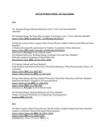 Download Complete List of Publications (PDF)