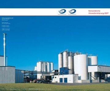 Konsolidierte Umwelterklärung 2007 - bei KS-Recycling