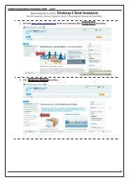 Infoblatt - LoNet-Benutzung Desktop Client Benutzen - Friedrich ...