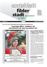 und Teilhabepaket - Teilhabe am sozialen und ... - Stadt Filderstadt