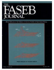 Front Matter (PDF) - The FASEB Journal