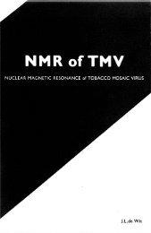 2. A 13c NMR STUDY OF TOBACCO MOSAIC VIRUS - Wageningen ...