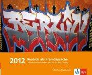 Deutsch als Fremdsprache - Ernst Klett Verlag