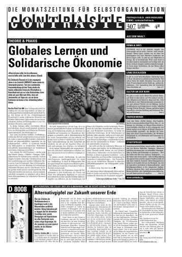 Globales Lernen und Solidarische Ökonomie - EcoSoliMundo