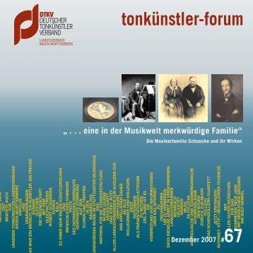 tonkünstler-forum - pcmedien