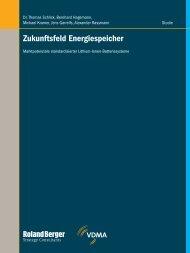 Zukunftsfeld Energiespeicher - Marktpotenzial ... - Roland Berger