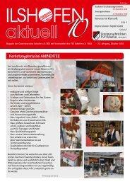 Ausgabe 10-2010 - Gewerbeverein Ilshofen eV / Startseite