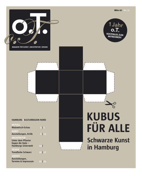 Info Hotline - Das Magazin für Kunst, Architektur und Design