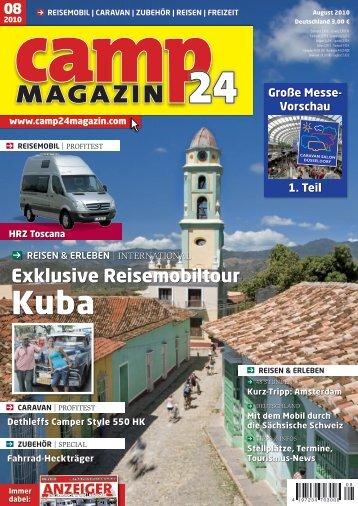 CAMPER 550 HK - (Camp 24 Magazin, Ausgabe 08 - Dethleffs