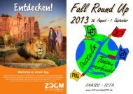 Programmheft (PDF) Druckversion - Fall Round Up 2013