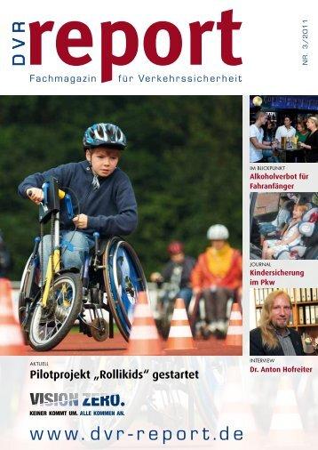 Nr. 3/2011 report Fachmagaz in f - DVR