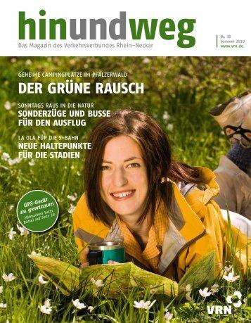 der grüne rausch - VRN Verkehrsverbund Rhein-Neckar