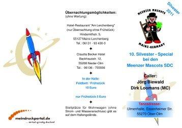 Jörg Biewald Dirk Loomans (MC) - Meenzer Mascots