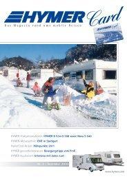 Das Magazin rund ums mobile Reisen - HYMER.com