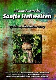 Sanfte Heilweisen - TWG Technisch-Wissenschaftliches Gymnasium