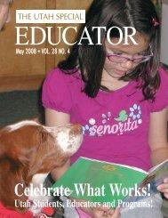 Celebrate What Works! - Utah Personnel Development Center