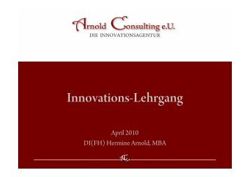 Certified Innovation Expert - nedi.at