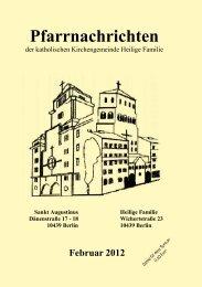 Pfarrnachrichten - St. Augustinus in Berlin