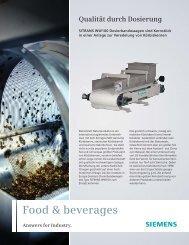 Qualität durch Dosierung - Siemens