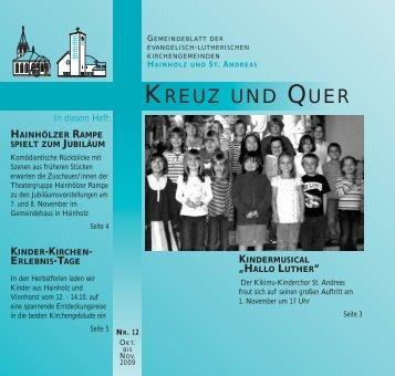 kinder-kirchen- erlebnis-tage - Ev-luth. Kirchengemeinde Hannover ...