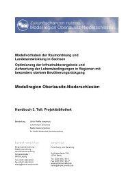 Modellvorhaben der Raumordnung und Landesentwicklung in ...