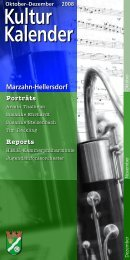 Susanne Ehrhardt - Kulturkalender Marzahn-Hellersdorf