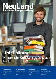 Ausgabe 1/2012 (PDF) - Universität Koblenz · Landau