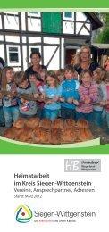 Heimatarbeit im Kreis Siegen-Wittgenstein - Heimatbund Siegerland ...