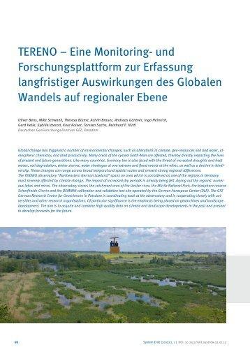 View - E-Books Deutsches GeoForschungsZentrum GFZ