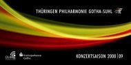 PDF Download - Thüringen Philharmonie Gotha