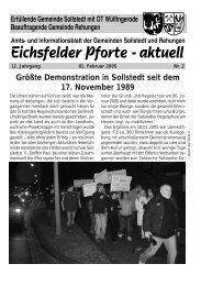 Februar 2005 - Gemeinde Sollstedt